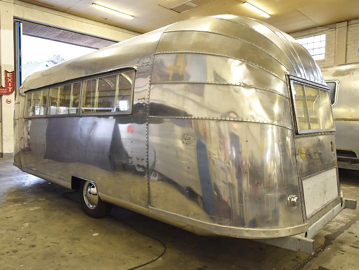 Airstream Vintage Trailer Shell     Safari 1954    rebuild