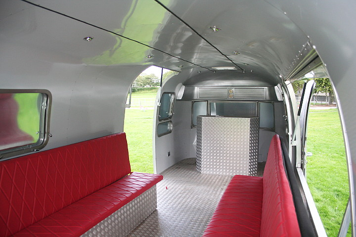 Airstream Open Space Custom Fabrication 4rent